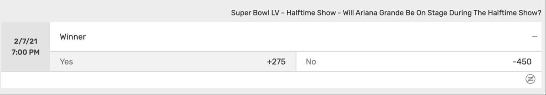 Super Bowl Betting odds