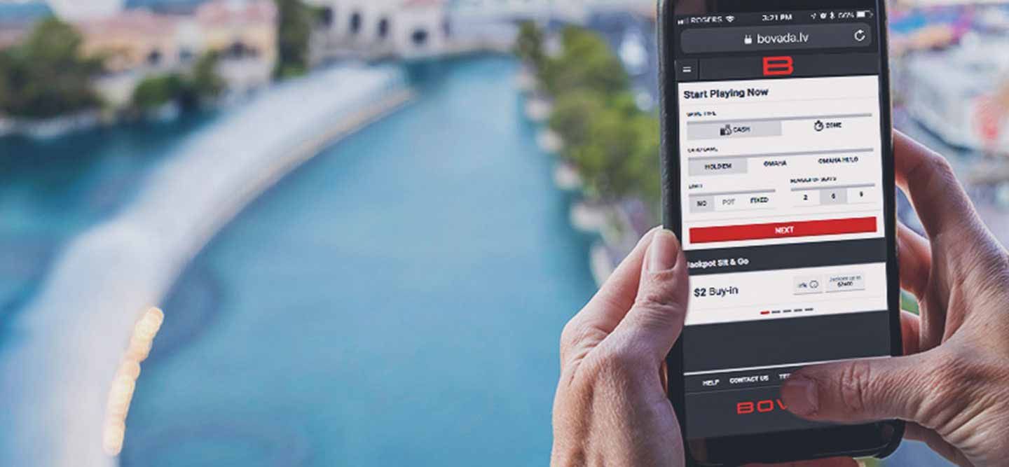 Bovada's Mobile Betting and casino games